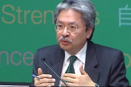 2015-16 曾俊華宣讀「預算案」足本